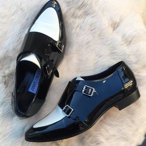 Jimmy Choo patent leather oxfords
